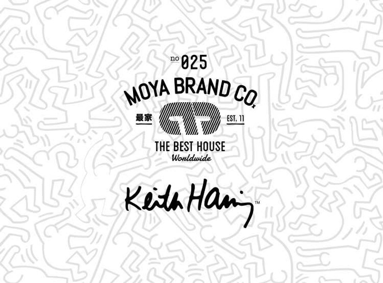 Keith Haring x Moya Brand  Collection 2018