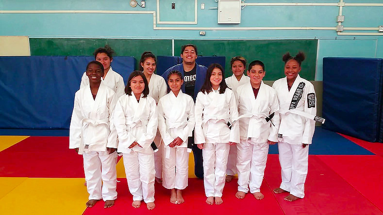 Paying forward with Dr. AnnMaria De Mars - Inner City Judo Program 2018!