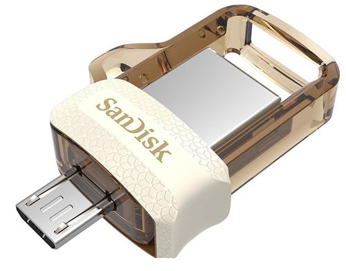 SanDisk OTG Pen Drive (Gold)