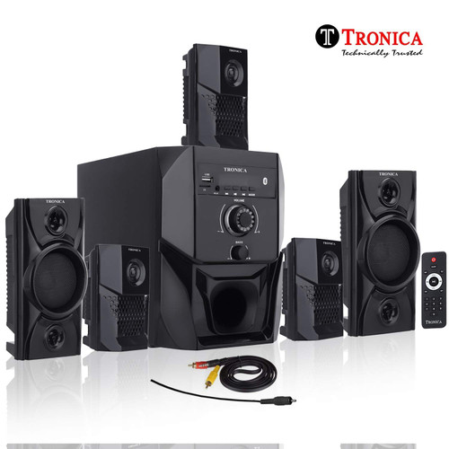 Tronica speakers with FMd Card/Mobile/Aux