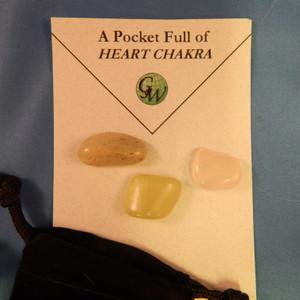 Heart Chakra - Pocket Full of Stones
