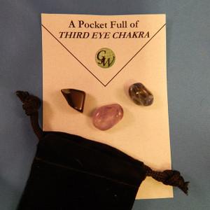 Third Eye Chakra - Pocket Full of Stones