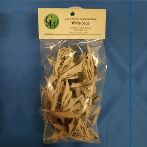 White Sage Clusters, whole 1 oz