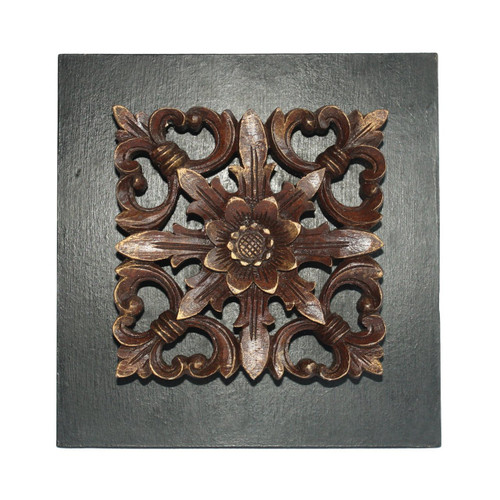 Hand carved Wooden Panel  - Wisdom Arts