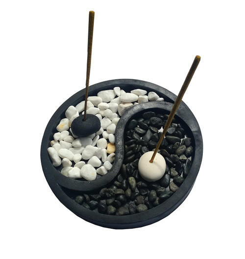 Yin Yang Zen Style Incense Holder - Wisdom Arts