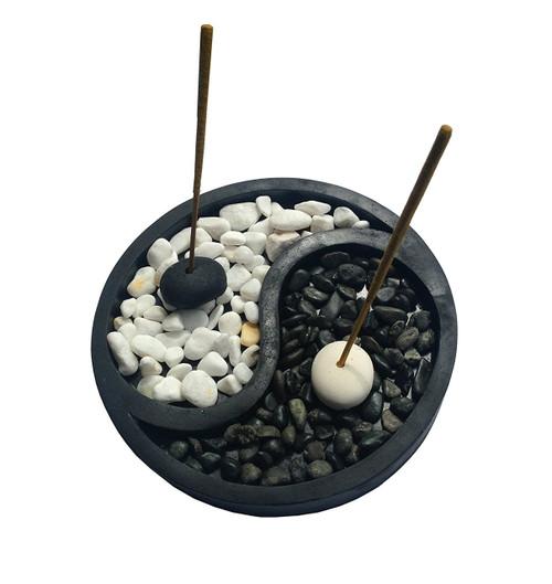 Yin Yang Zen Style Incense Holder - Wisdom Arts