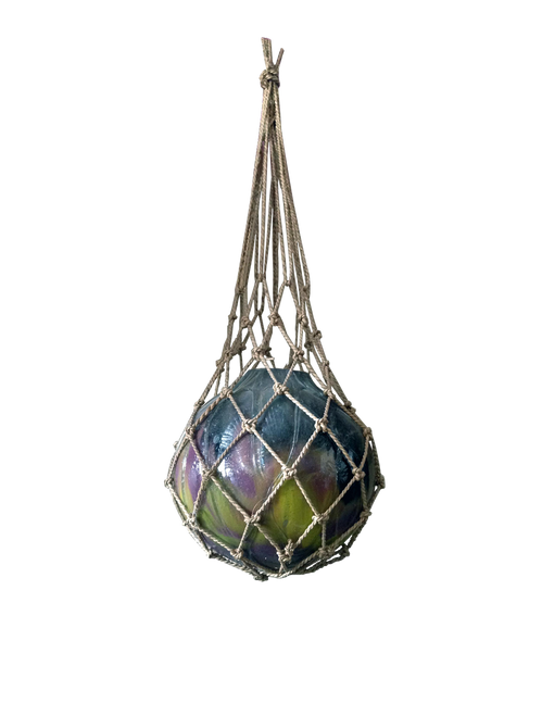 Glass fishing float buoy  - Wisdom Arts