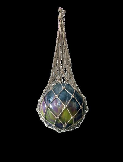 Glass fishing float buoy  - Wisdom Arts