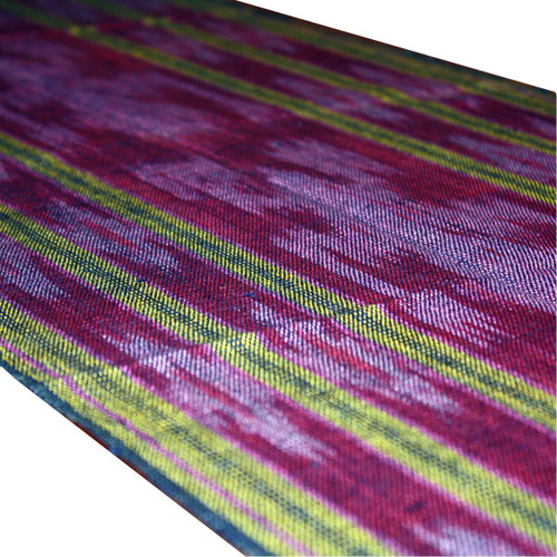 """Indonesian Traditional """"Ikat"""" Table Runner or Tapestry - Handwoven in Indonesia - Wisdom Arts"""