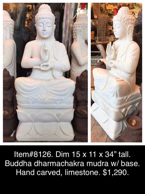 Hand-carved Buddha