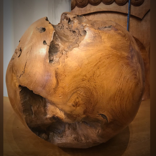 Wooden sphere