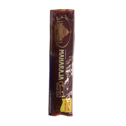 Maharaja Gold Incense Sticks 1 Pack of 8 sticks