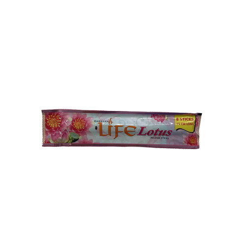 Life Lotus Incense Sticks, 1 Pack (8 Sticks)