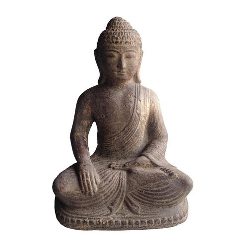 Peaceful Buddha Statue Bhumisparsha Mudra - Wisdom Arts