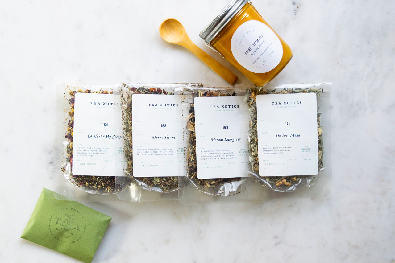 Herbal Tea Wellness Kit