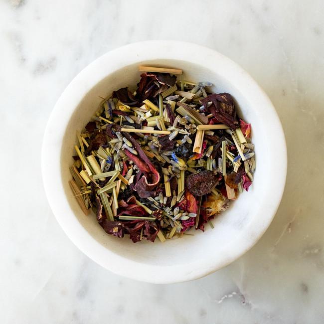 141 Lavender Cherry Blossom Herbal Tea