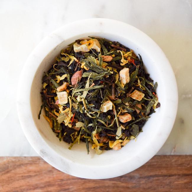 014 Bengal Peach - Black & Green Tea