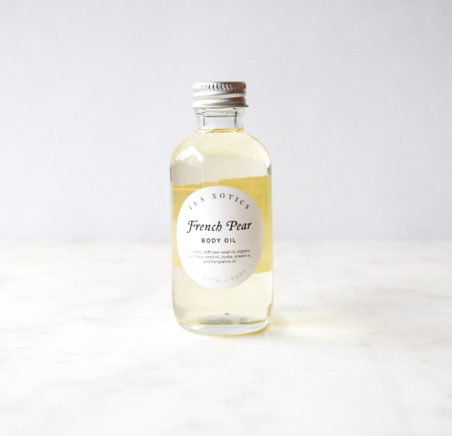 French Pear Body Oil