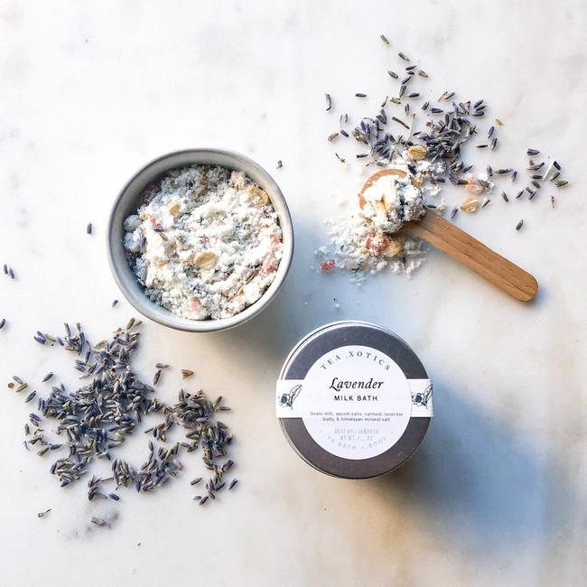 Lavender Milk Bath by Tea Xotics