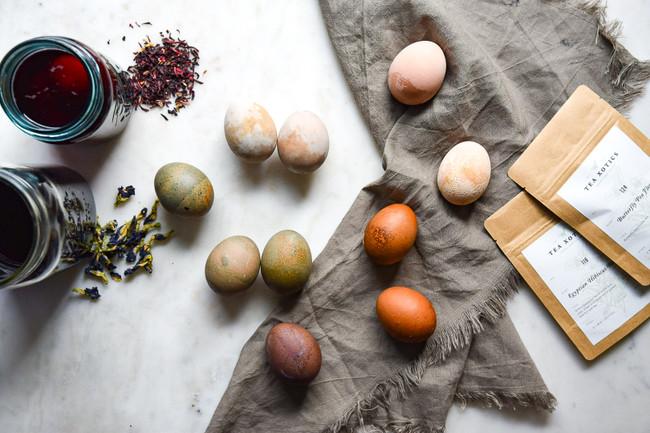 Natural Easter Egg Dyes!