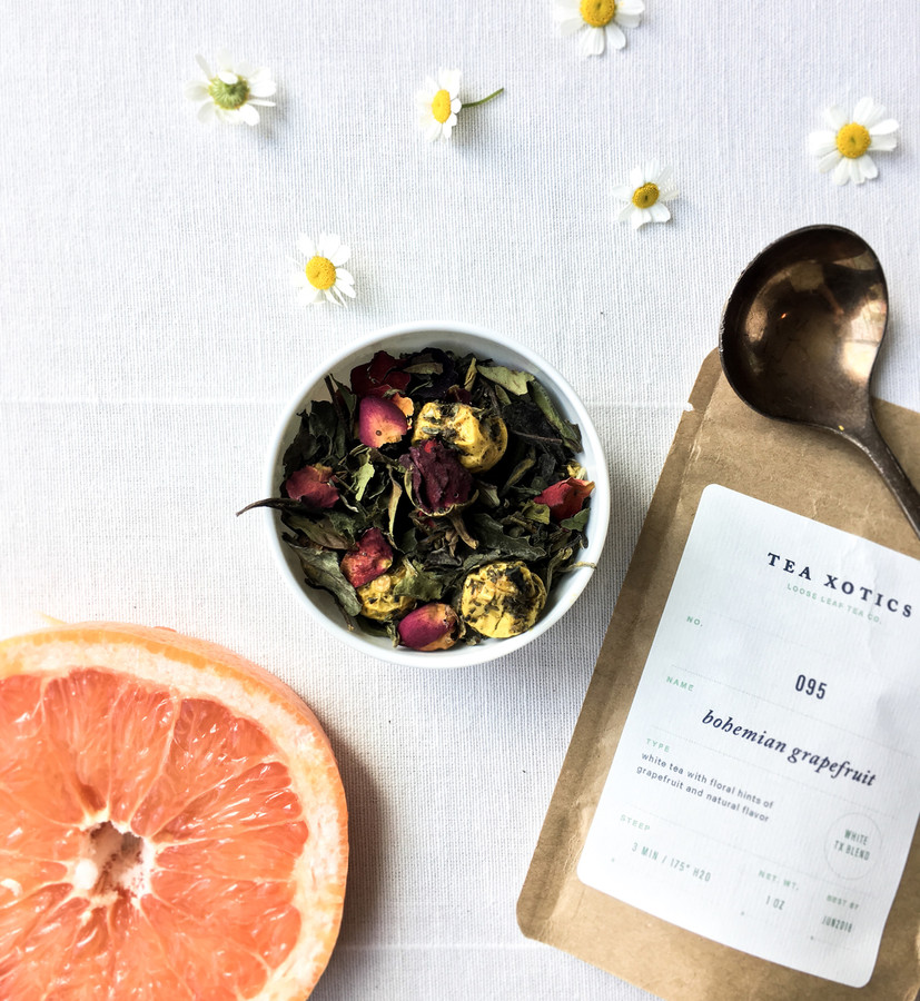095 Bohemian Grapefruit White Tea