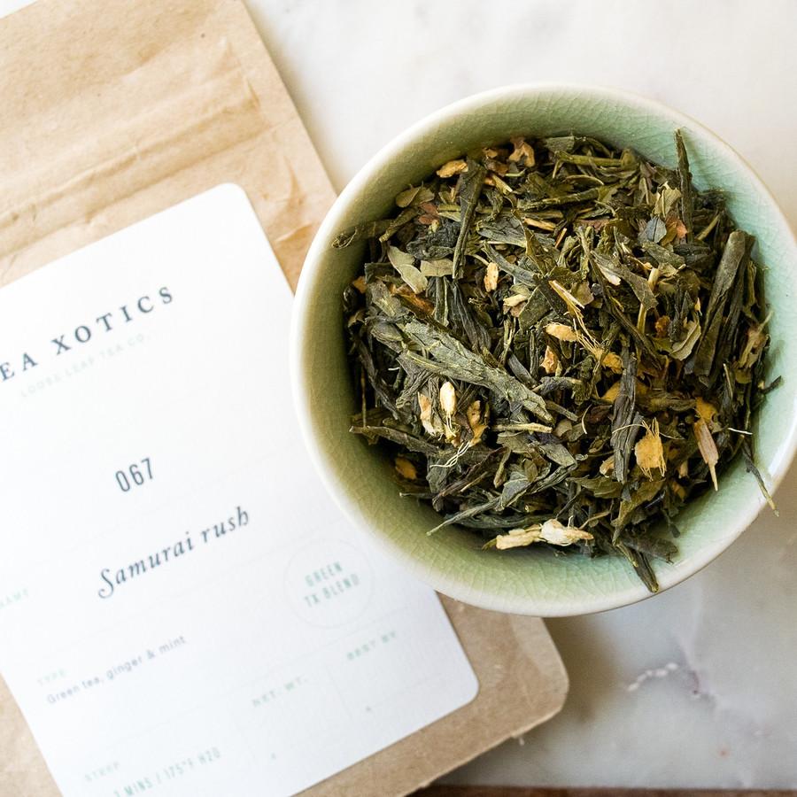 067 Samurai Rush Green Tea