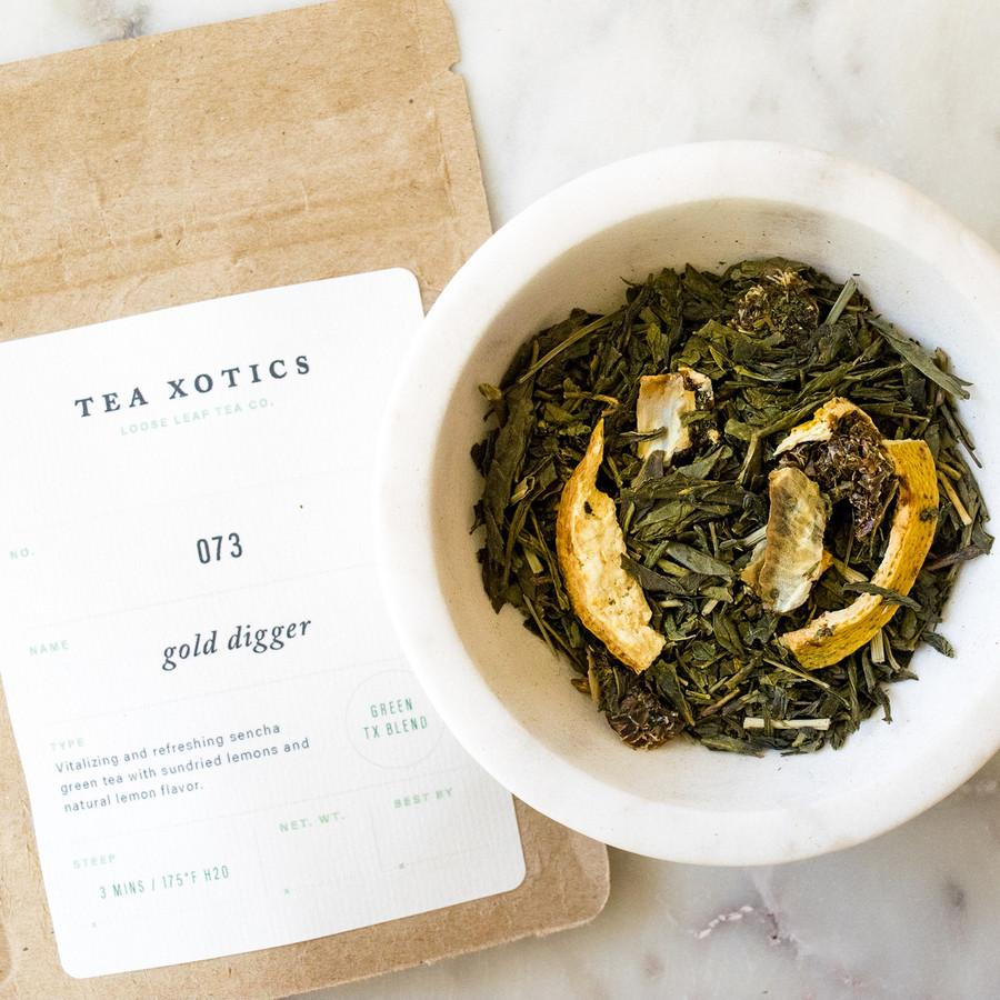 073 Gold Digger Green Tea