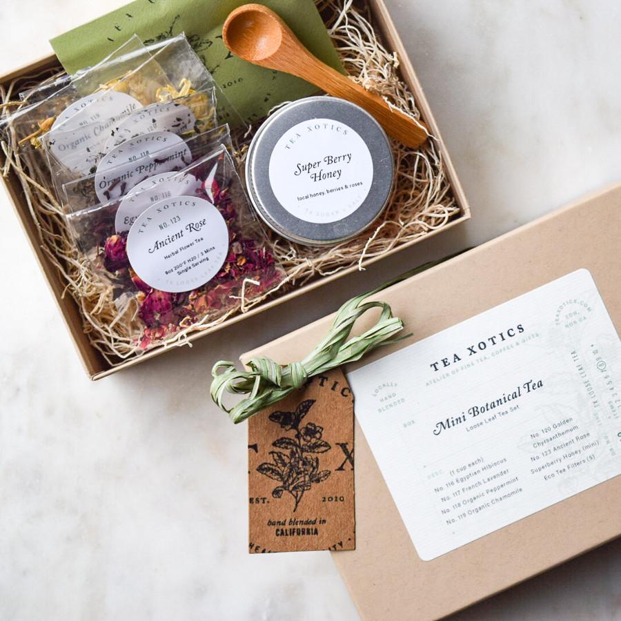 Mini Botanical Tea Box
