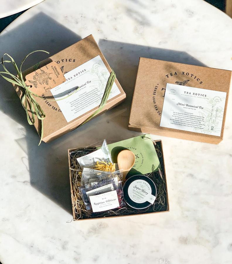 Mini Botanical Tea Set by Tea Xotics