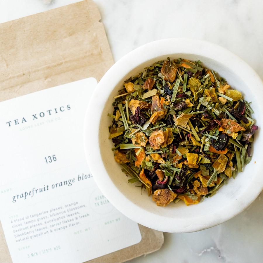 136 Grapefruit Orange Blossom Herbal Tea