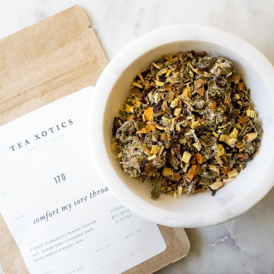 170 Comfort My Sore Throat Herbal Wellness Tea