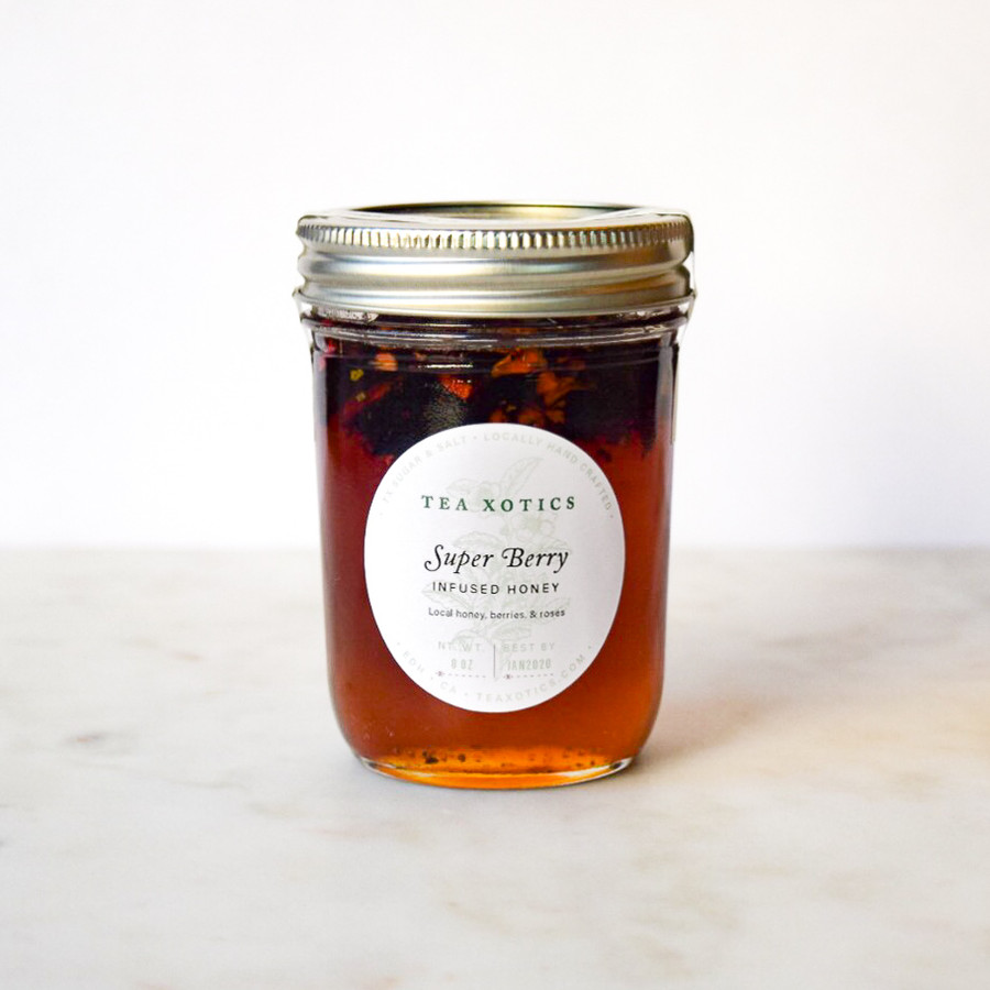 Super Berry Infused Honey
