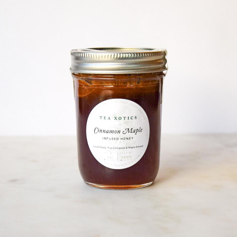 Cinnamon Maple Infused Honey