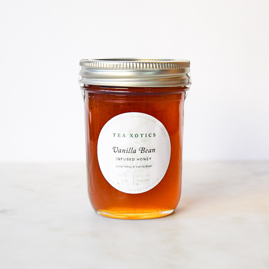Vanilla Bean Infused Honey