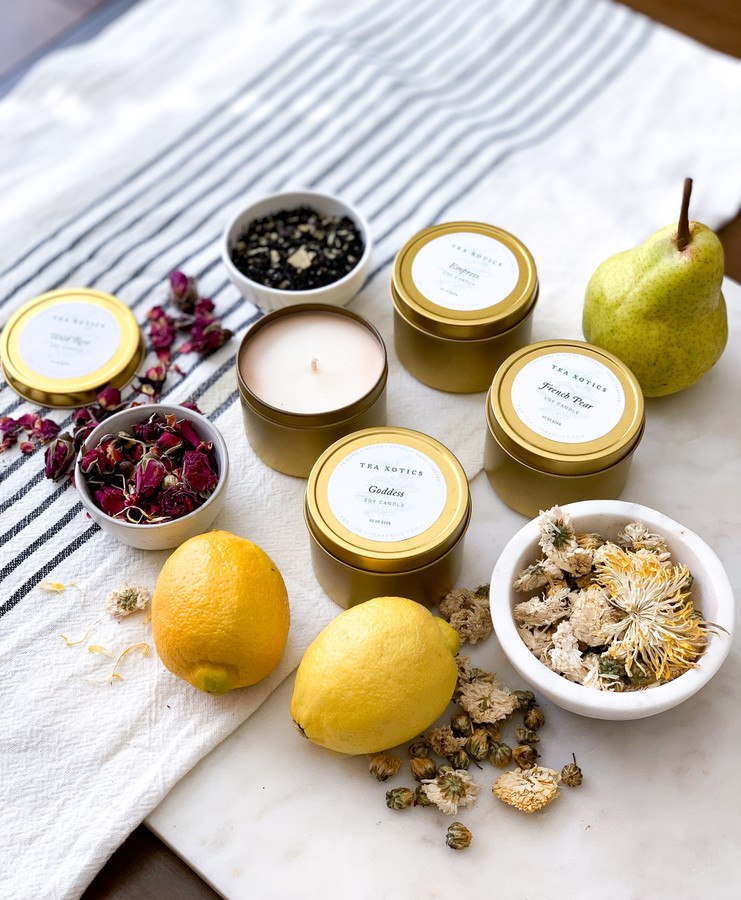 Soy Candles, assorted scents