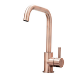 SIA KT6CUD Copper U-Shaped Single Lever Contemporary Monobloc Kitchen Mixer Tap
