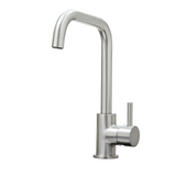 SIA KT6BND Brushed Nickel U-Shaped Single Lever Monobloc Kitchen Sink Mixer Tap