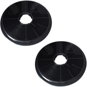 2x CO6 Carbon Re-circulation Filters for SIA Kitchen Cooker Hood Extractor Fans