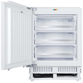 SIA RFU103 Built In 105L White Integrated Under Counter 3 Drawer Freezer A+