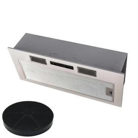 SIA 70cm Under Cupboard Canopy Built In Cooker Hood Extractor Fan + Filter