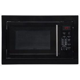 SIA BIM25BL Black 25L Integrated Built in 900W Digital Timer Microwave Oven