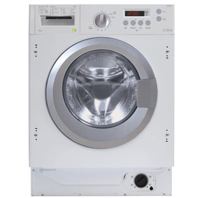 CDA CI361 White 6kg Fully Integrated 1200rpm Spin 16 Program Washing Machine
