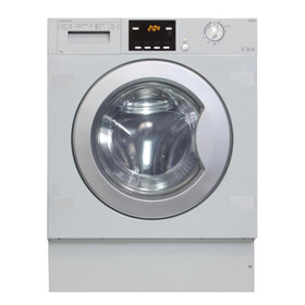 CDA CI326 White 7kg Fully Integrated 1200rpm 11 Program Washing Machine A+++