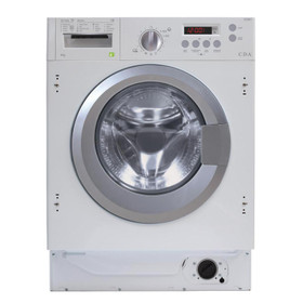 CDA CI381 White 8kg Fully Integrated 1400rpm 16 Program Washing Machine A+++