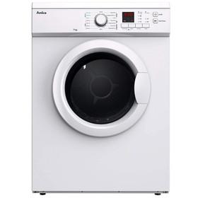 AMICA ADV7CLCW White 7kg 12 Programme Freestanding Digital Vented Tumble Dryer