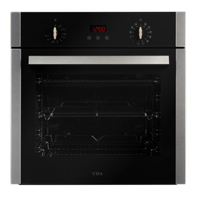 CDA SC300SS 60cm Stainless Steel 12 Function 65L Built-in Single Electric Oven