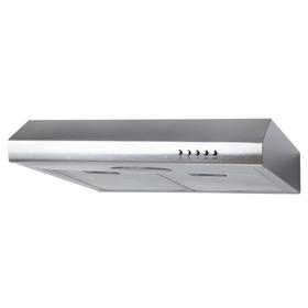 SIA STE50SS 50cm Stainless Steel Standard Visor Cooker Hood Kitchen Extractor