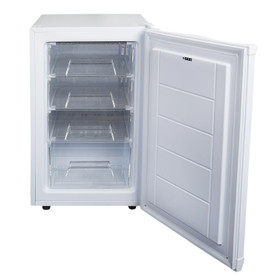 SIA UCF50WH 50cm White Freestanding Under Counter Freezer 80L A+ Energy Rating
