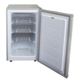 SIA UCF50GR 50cm Grey Freestanding Under Counter Freezer 80L A+ Energy Rating