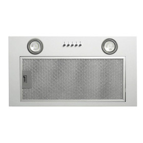 CDA CCA52SI Silver 50cm Under Canopy 3 Speed Cooker Hood Kitchen Extractor Fan
